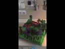 Торт с динозаврами от Студии Сладкого Дизайна