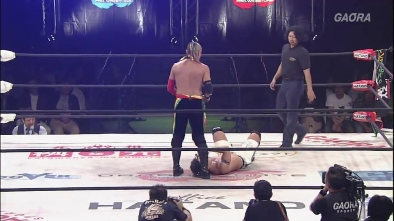 Kzy Susumu Yokosuka Genki Horiguchi c vs KAGETORA Yosuke Santa Maria U T Dragon Gate The Gate of Origin 2018