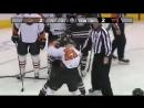 Новичок Торпедо Энди Миле жестко отpizdil хоккеиста на две головы выше себя 😱