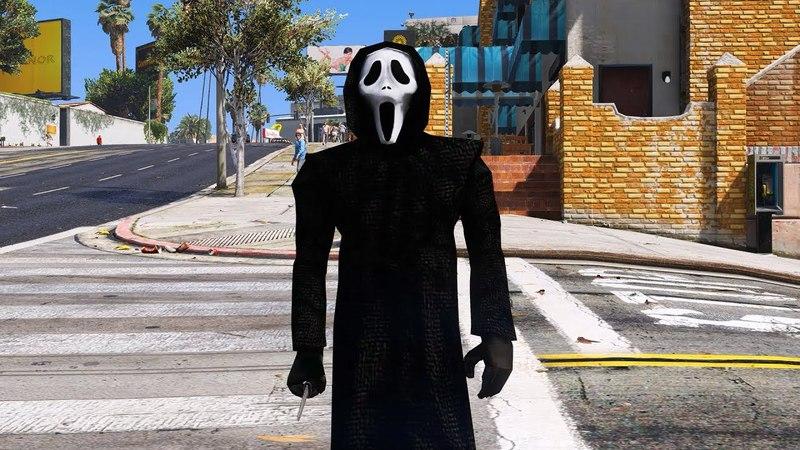 GTA 5 mod Ghostface