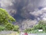 Извержении вулкана Фуэго в Гватемале 03.06.2018