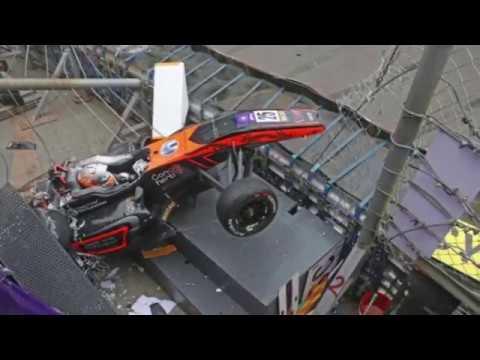СТРАШНАЯ АВАРИЯ Гран При Макао Formula 3