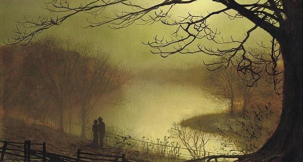 Художник Джон Эткинсон Гримшоу /John Atinson Grimshaw (1836-1893) Джон Аткинсон Гримшоу родился в Лидсе в семье полицейского. В городе было несколько картинных галерей и Джон мог любоваться