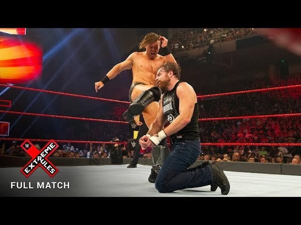 FULL MATCH - Dean Ambrose vs. The Miz - Intercontinental Championship Match: WWE Extreme Rules 2017