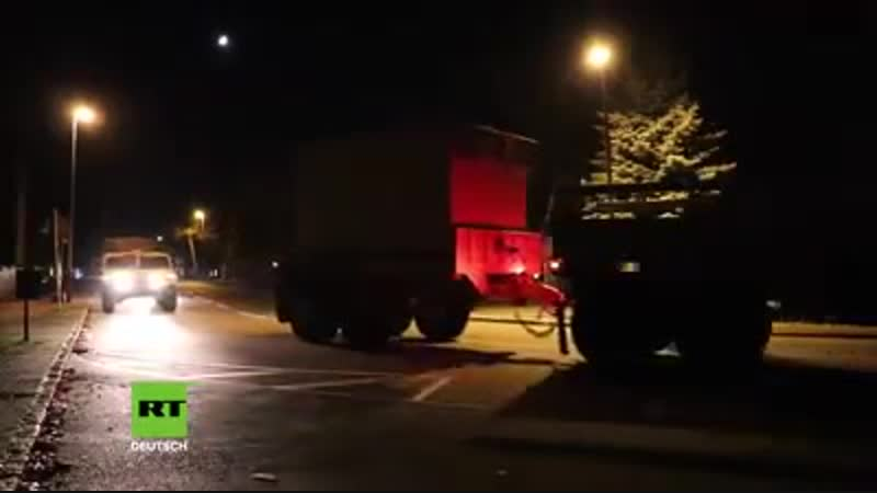 Erneut zieht schweres US-Militär durch Sachsen