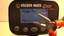 Golden Mask One 24 kHz New Model 2018 metal detector for begginers and professionals