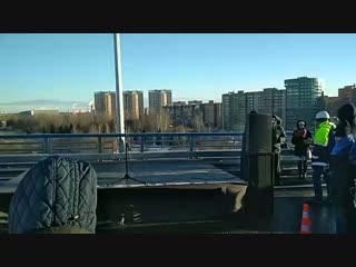 Открытие моста в Дубне