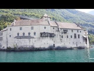 Женевское озеро..Монтрё..Шильонский замок