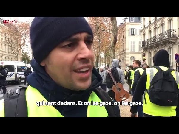 Gilets jaune Parole au peuple Pompier s'exprime sur la situation le 1 Décembre