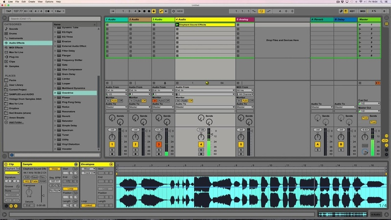 Ned Rush = Star Wars SFX in Ableton 9.5