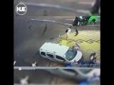 В Киеве столкнулись две легковушки, пешеход погиб