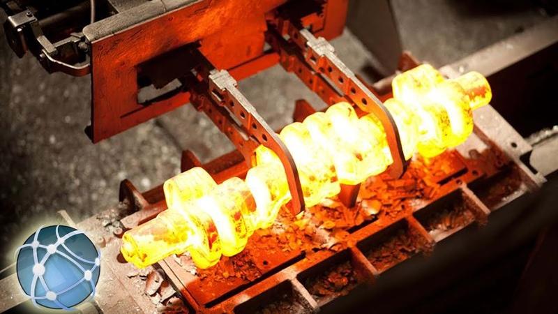 Germany Crankshaft Forging - Discover Heavyweight Production | Global Technology