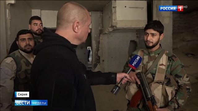 Боевики держат в заложниках жителей Восточной Гуты