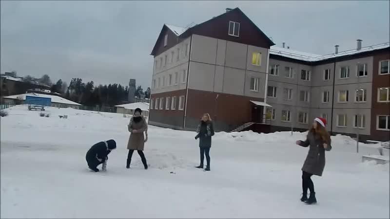 Новогоднее поздравление, видеоклип. Воронина Анастасия