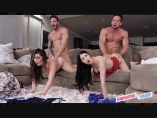 Daughterswap - flu shot floozies /  alex coal, kimber woods