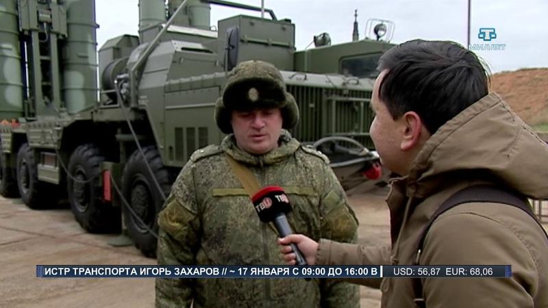 В Севастополе на боевое дежурство заступил С-400 «Триумф»