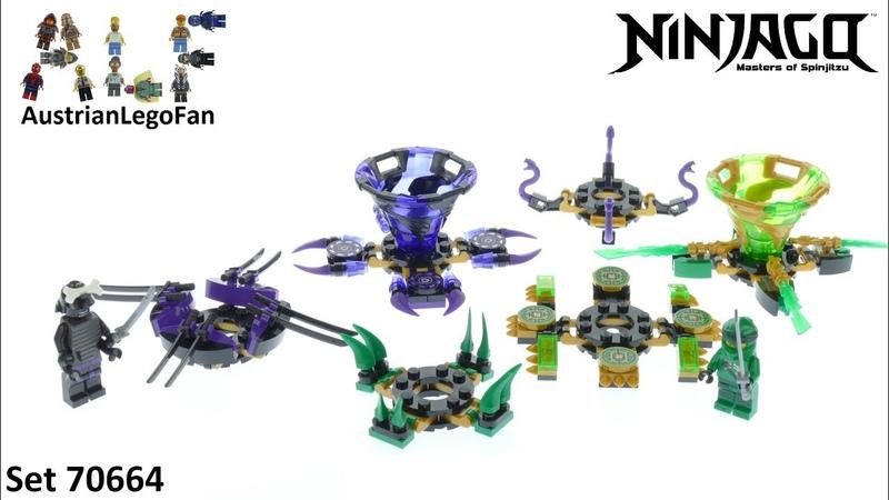Lego Ninjago 70664 Spinjitzu Lloyd vs. Garmadon - Lego 70664 Speed Build