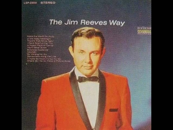 JIM REEVES i can't stop loving