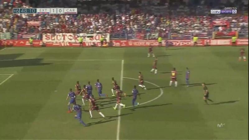 Эстремадура UD - FC Картахена, 1-0, гол Хосе Пардо, голевая Кике Маркеса