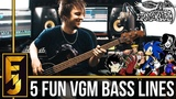 5 INSANELY FUN Video Game Bass Lines FamilyJules