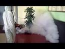 Метод «Горячий туман» - метод дезинсекционной и дезинфекционной обработки помещений, с помощью генератора, который превращает, з