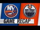 НХЛ - регулярный чемпионат. «Эдмонтон Ойлерз» - «Нью-Йорк Айлендерс» - 4:3 ОТ (2:3, 0:0, 1:0, 1:0)
