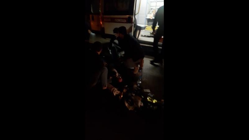 Ночная авария в Демском районе на улице Центральная