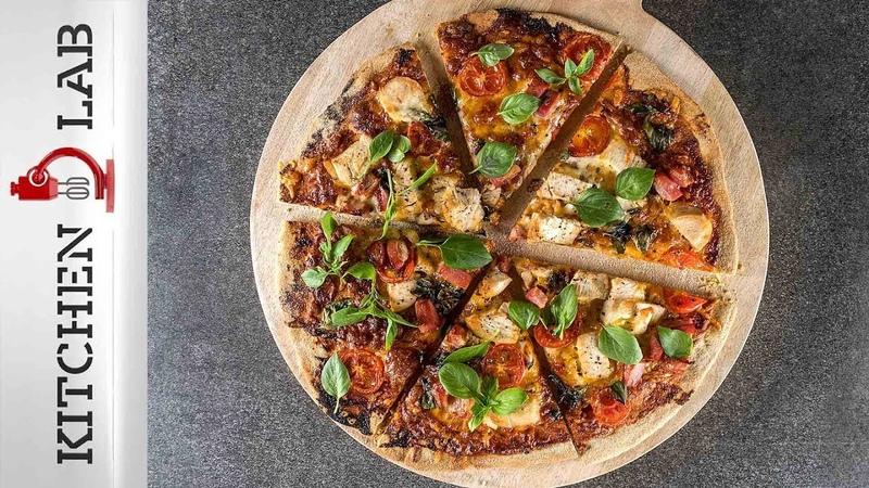BBQ πίτσα με κοτόπουλο Επ. 9 | Kitchen Lab TV