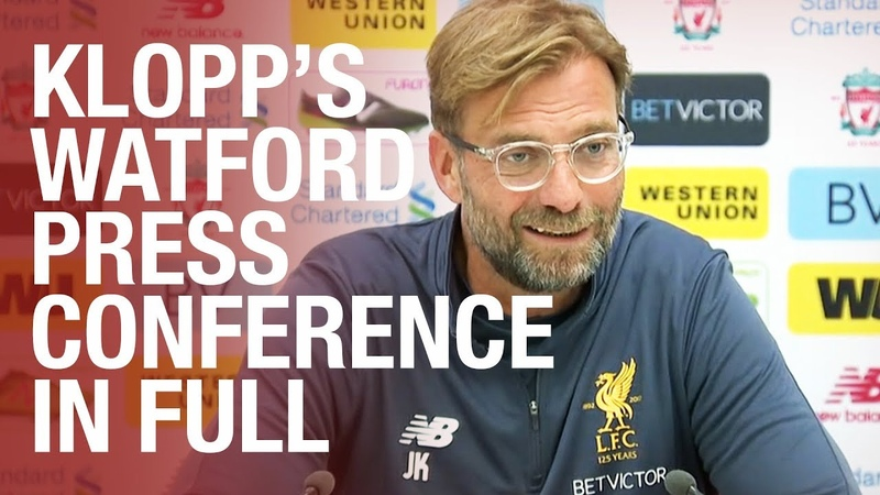 Jürgen Klopp's pre-Watford press conference in full | Coutinho update, transfers and more