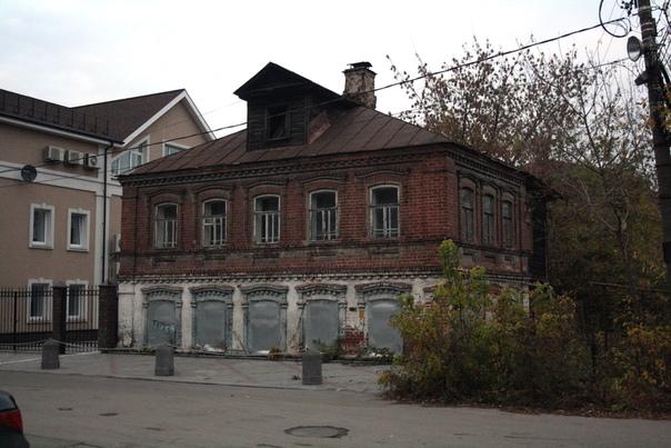 Слегка запущенный представитель нижегородской мануфактурым  октябрь 2017