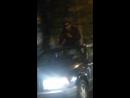 Покурил на крыше движущегося авто