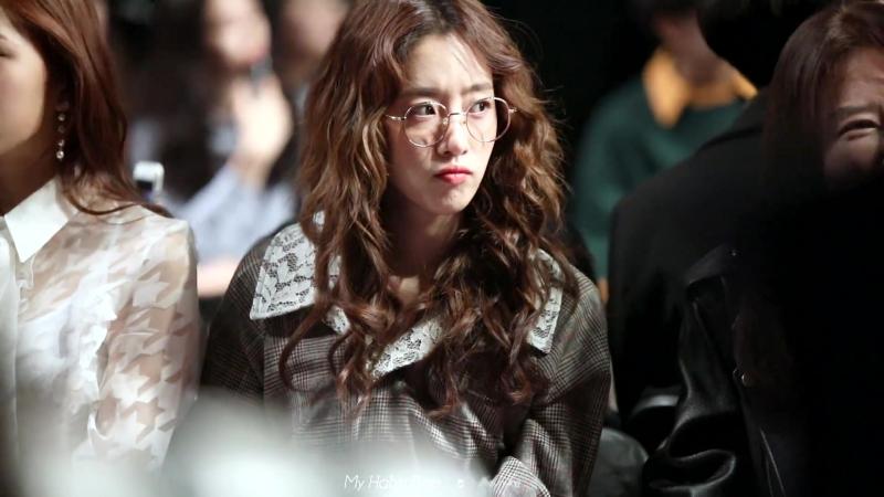 180324 Eunjung - FW Seoul Fashion Week - BEYOND CLOSET