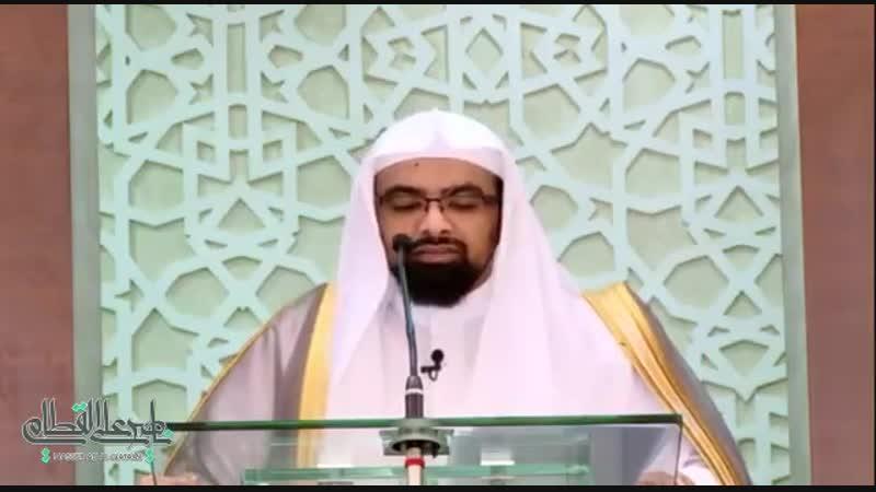مسألة استقبال القبلة في البريّة - الشيخ ناصر القطامي