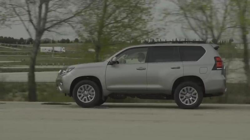 Toyota Land Cruiser Prado- система кинетической стабилизации подвески KDSS