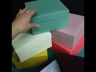 Коробки цветные из переплетного картона Artitel
