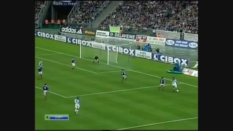 Франция vs Россия. Отбор на Евро - 2000. (05.06.1999) 2-й тайм