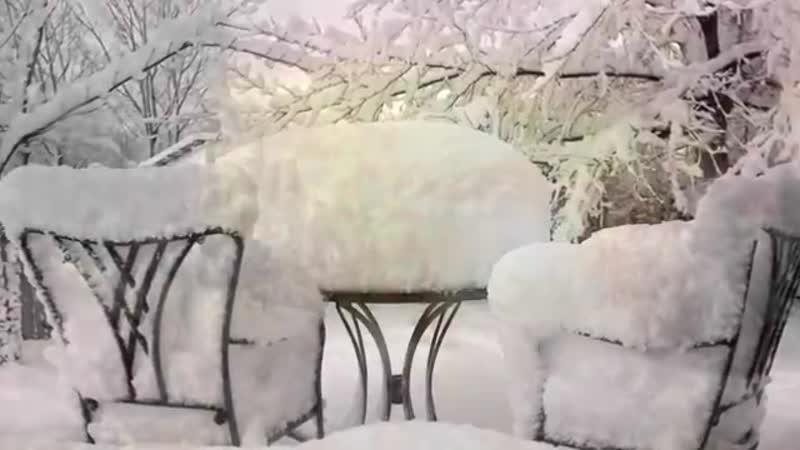 Зимняя сказка под музыку М. Таривердиева