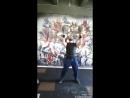 Первое место в открытом Республиканском турнире по гиревой атлетике Жим гирь 24kg 24kg вверх дном