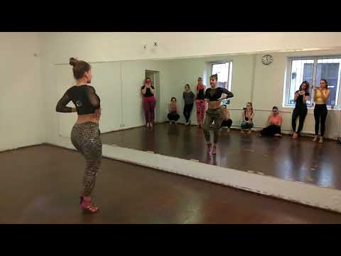 Nora Kocsis - Bachata styling 4 - lesson 1 on count top level 10 April