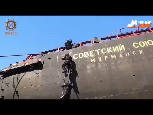 Чеченский спецназ прошел учения в условиях Крайнего Севера