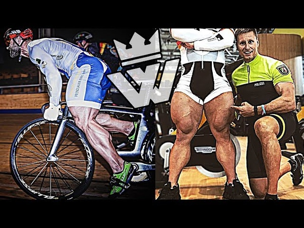 FASTEST CYCLIST - Most MUSCULAR Speed Legs!!