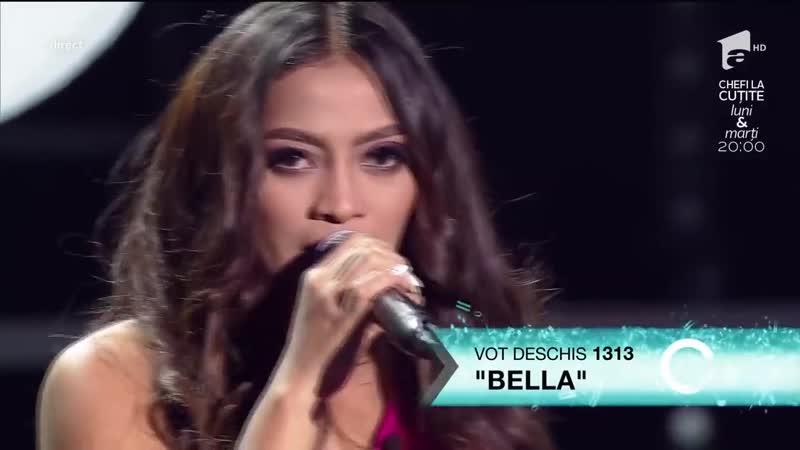 Celine Dion - Its all coming back to me now . Vezi cum cântă Bella Santiago, în a doua gală LIVE!