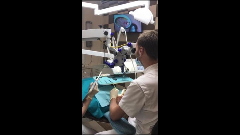 Стоматологический микроскоп.