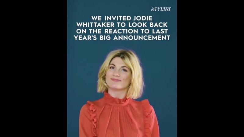 Джоди читает и комментирует рекции фанатом о женщине-Докторе.