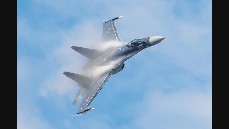 Высший пилотаж Су 35C Самый лучший истребитель в мире