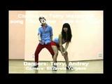милый парень и девушка танцют