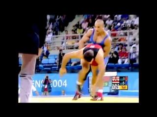 Karam Ibrahim Gaber (EGY) vs Nozadze Ramaz (GEO) - Athens 2004 Summer Olympic Games Best Final