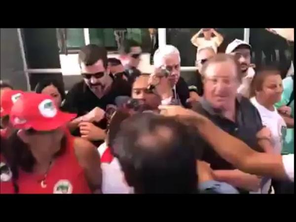 Grevista de Fome Em Pro a Liberdade de Lula e Expulsos da Frete do STF.