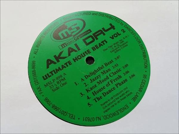 Akai DR4 - Kaoz Mood Classic - Ultimate House Beats Vol 2