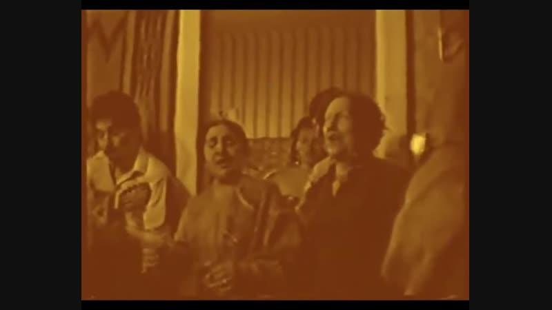 Деметер-Чарская Ольга Степановна и ее сестра Нина - Де-атунчара - Цыганская чечётка - Москва - 1980